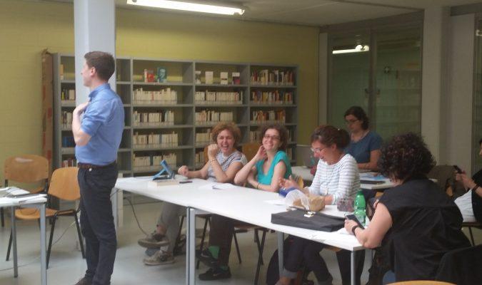 Fotografia dei partecipanti al corso per bibliotecari