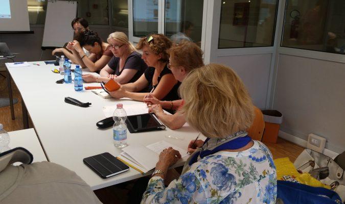 Fotografia di lettori durante corso LIA