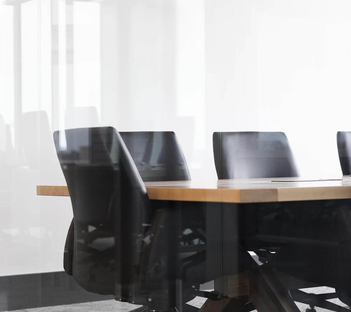 Photo of a meetings table