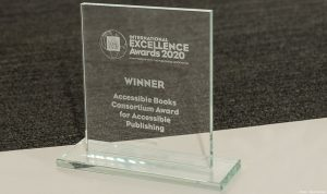 Photo of the 2020 Excellence Award