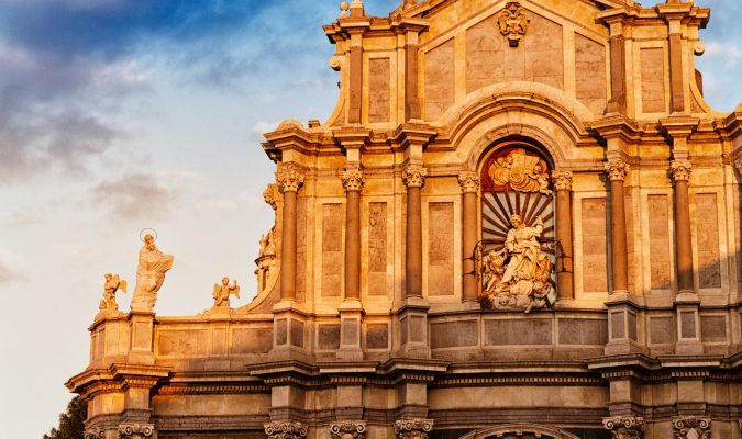 Veduta di Catania