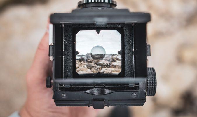 Fotografia dello schermo di una macchina fotografica