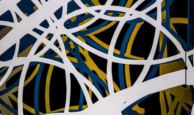 Fotografia di pattern colorato