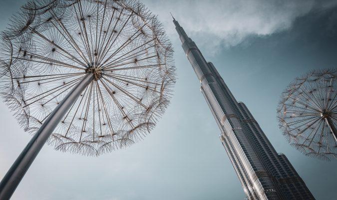 Photo of Burj khalifa and Dandelion Lights